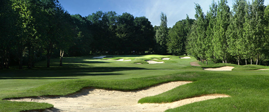 Golf Days - View of the course at Kingswood Golf and Country Club, Surrey.